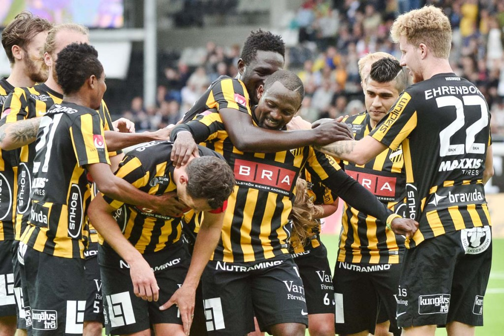 Ghana internationals Baba Mensah & Nasiru Mohammed score in Hacken massive win in Swedish Cup