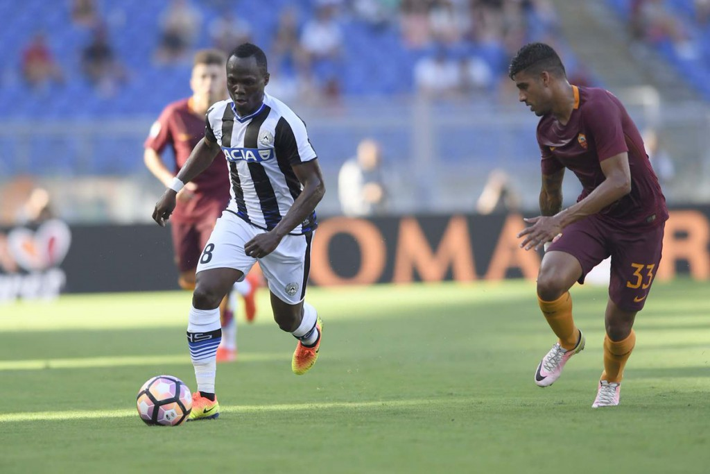 Ghana ace Agyemang-Badu signs fresh deal at Udinese