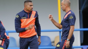 PHOTOS: Kevin Boateng completes first training session with Las Palmas