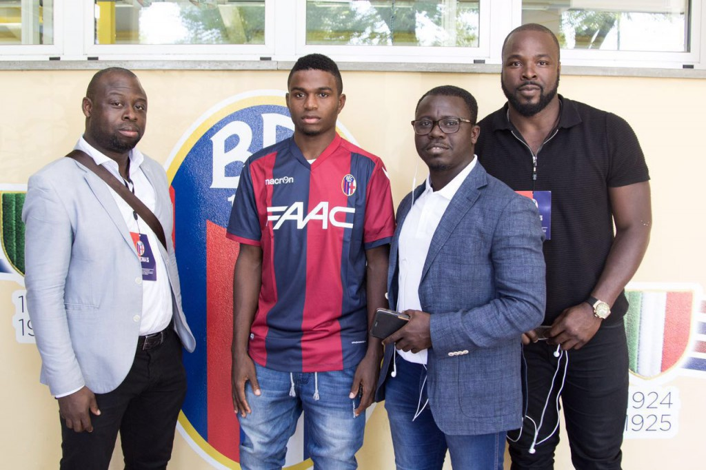 Ghanaian agent Oliver Arthur brokers top deals for Nigerian duo to Serie A clubs
