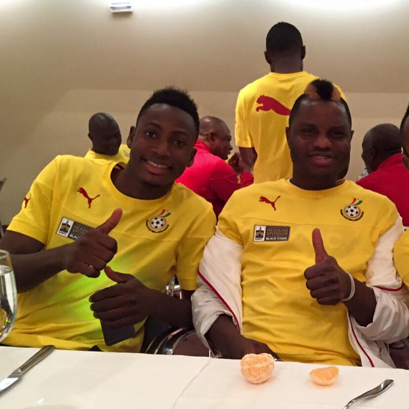 Baba Rahman and Mubarak Wakaso set to fly in today after purchasing their own tickets