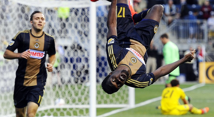 American-born Ghanaian hitman Charles Sapong sets Philadelphia Union record in 6-1 win over Orlando City