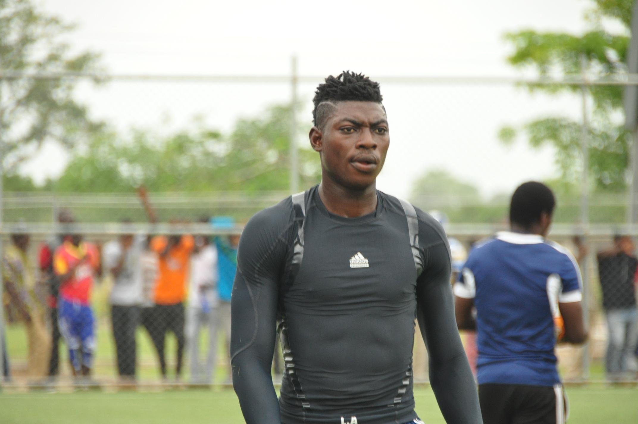 WAFA goalie Razak Abolora: Hearts of Oak's technical ability low