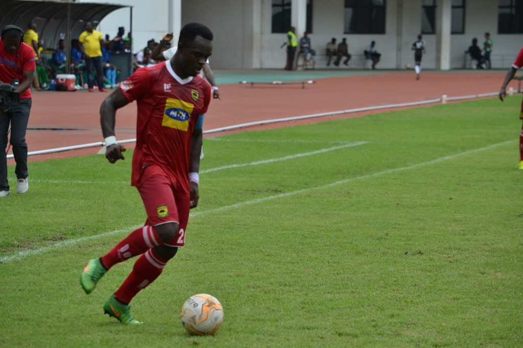 Kotoko captain Amos Frimpong hopeful of league title success
