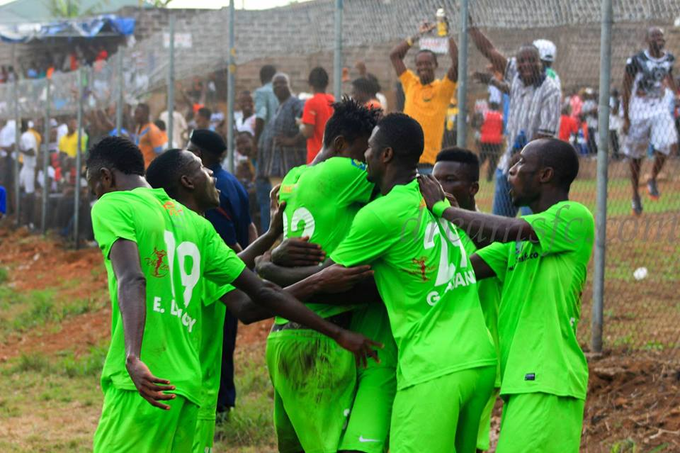 Match Report: Dreams FC 2-1 Techiman City - Youngster Mike Sarpong inspires Dreams to smooth win