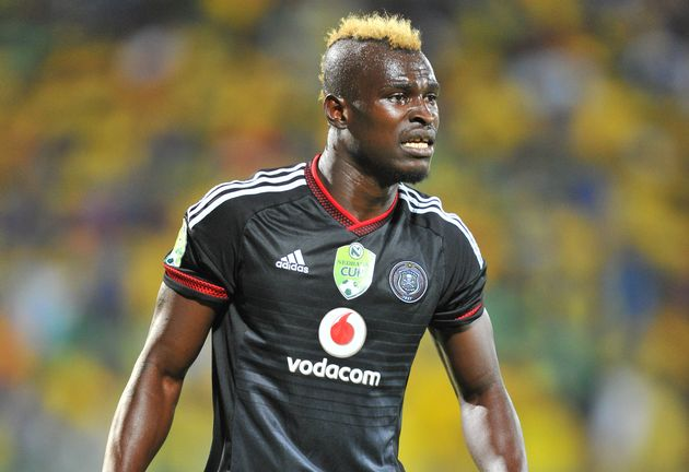 Orlando Pirates coach Ertugral hails Edwin Gyimah's fighting spirit