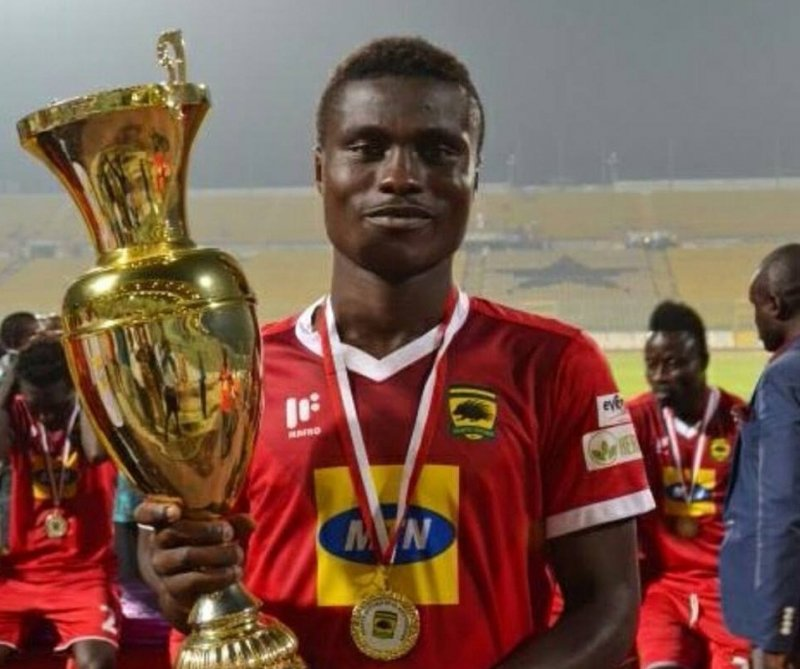 Kotoko's Tuffour Frimpong happy his versatility is helping club