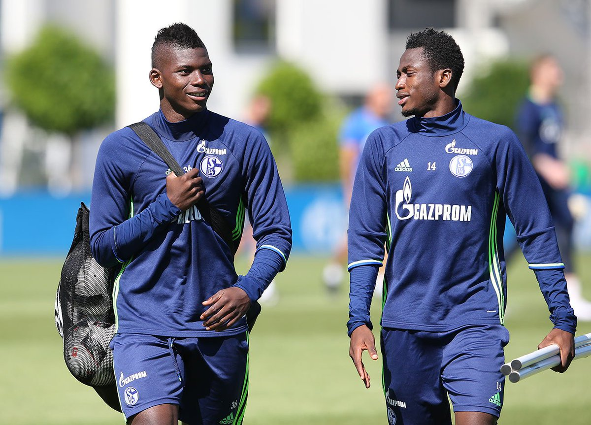 Baba Rahman, Naldo and Embolo all looking bright for Schalke 04