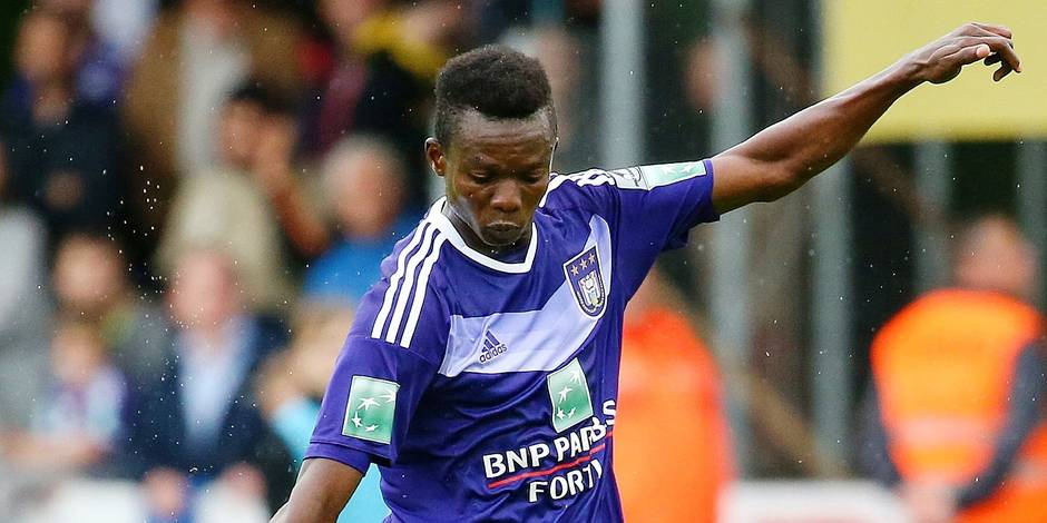 Ghanaian duo Emmanuel Adjei and Francis Amuzu named in Anderlecht U19 squad to face Midtylland