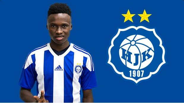 Evans Mensah nets brace as HJK Helsinki trounce Estonian side Infonet in friendly