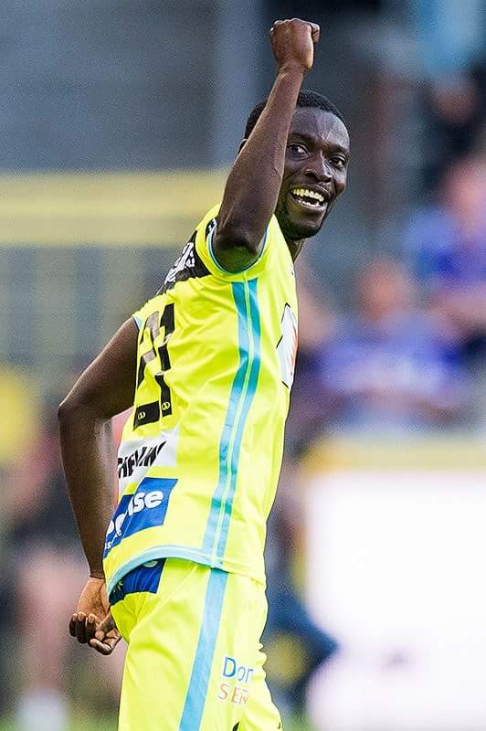 Nana Akwasi Asare scores for Gent on injury return in Belgium