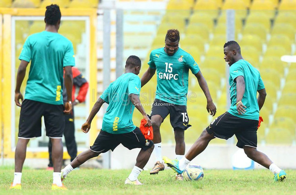 AFCON 2017 QUALIFIER: Black Stars open training with 13 players