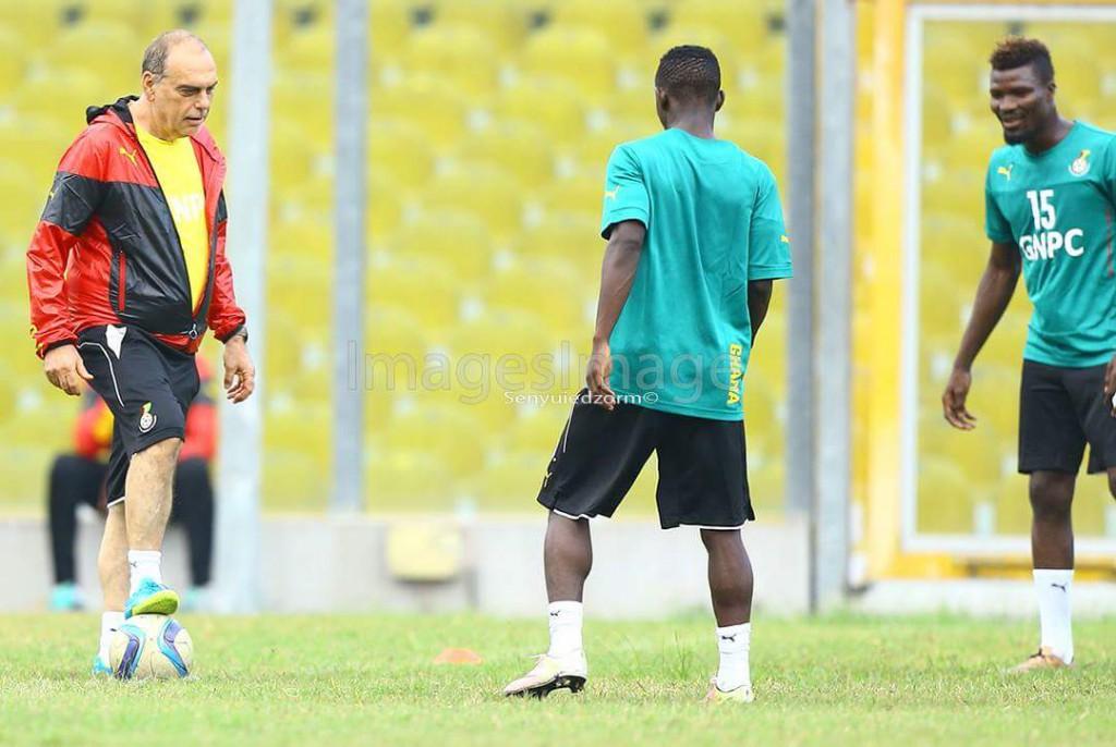 PHOTOS: Black Stars first training session ahead of Rwanda clash