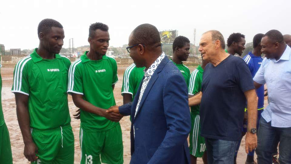 PHOTOS: Black Stars coach Avram Grant visits grass root football competition at Kawokudi