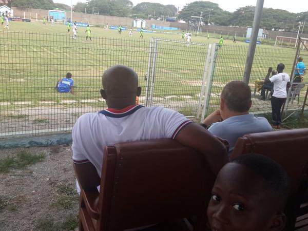 Avram Grant watched Inter Allies thump New Edubiase in Tema