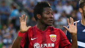 Fulham keen to land Ghana star striker Asamoah Gyan