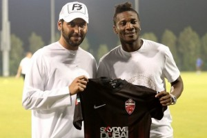 Asamoah Gyan handed No.90 jersey at UAE side Al Ahli