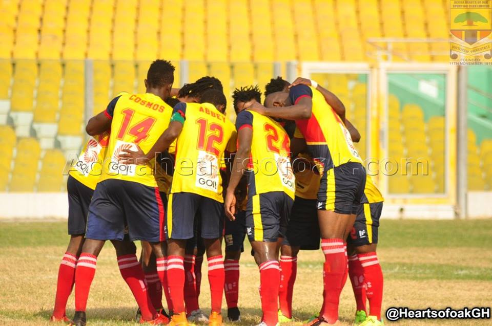 Hearts of Oak players refuse to turn up for pre-season over unpaid cash
