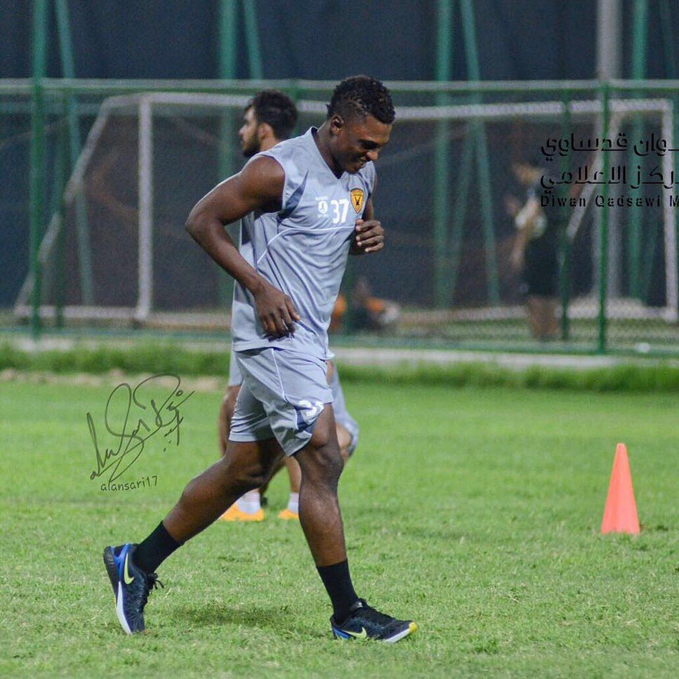 Rashid Sumaila begins pre-season with Al Qadsia in Dubai
