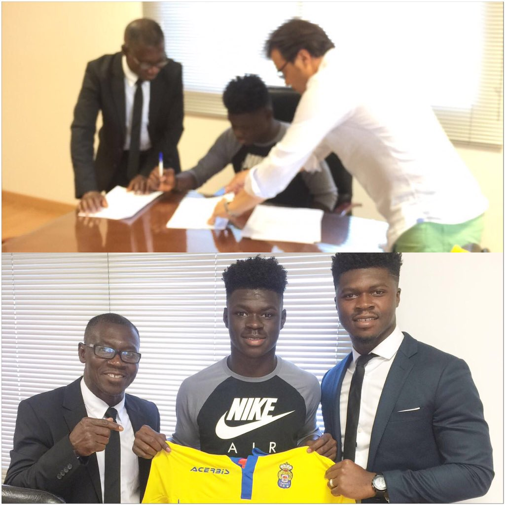 CONFIRMED: Italian-born Ghanaian midfielder Emmanuel Sabbi signs for Spanish side UD LAS Palmas