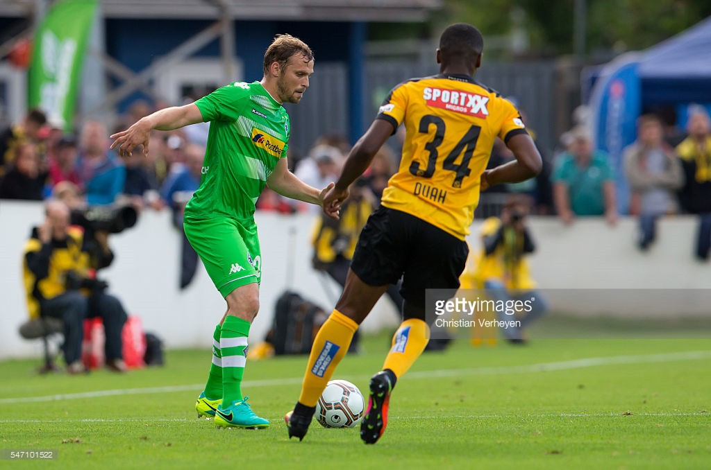 Swiss-born Kwadwo Duah debuts in Champions League for Young Boys in disgraceful loss at M'gladbach