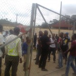 Angry Medeama fans chase head coach Prince Owusu out from training ground