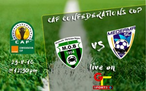 GTV Sports+ to telecast Medeama's decisive CAF Confederation Cup tie against MO Bejaia today