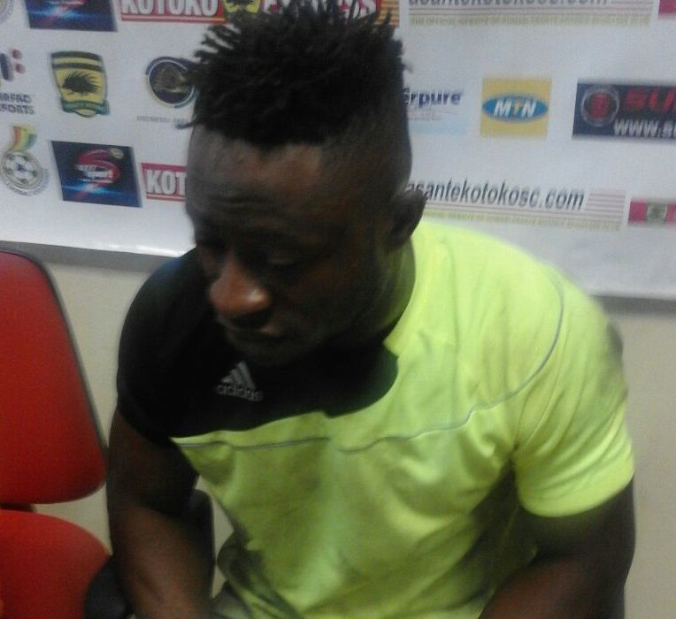 Berekum Chelsea goalie Moosie hopes his displays caught the eyes of Kotoko handlers