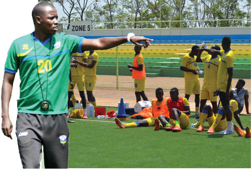 Rwanda stop-gap coach concerned about players low fitness levels