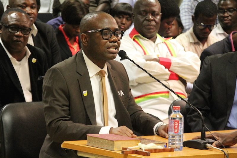 Dreams FC back Kwesi Nyantakyi to truimph in FIFA Council election on Thursday