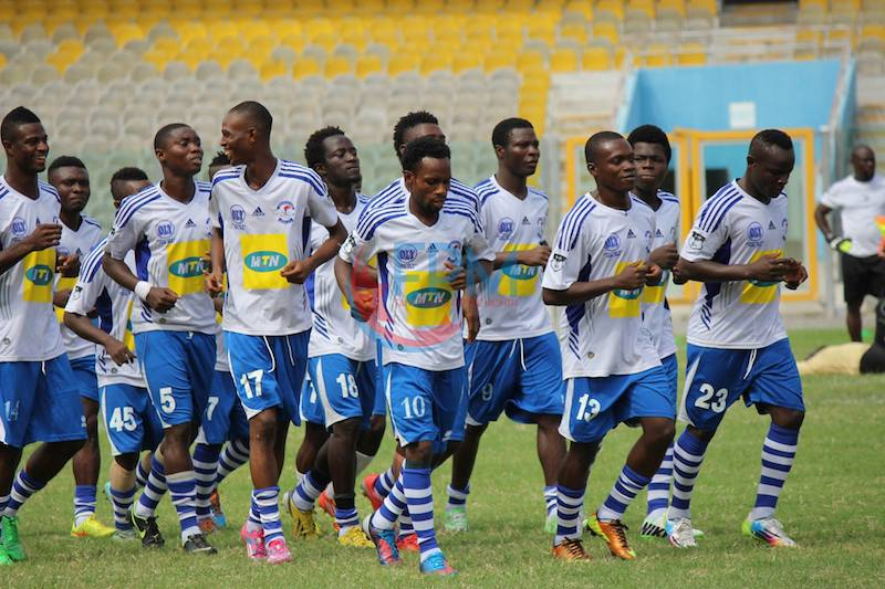 Great Olympics earn come-from-behind win to seal Ghana Premier League return