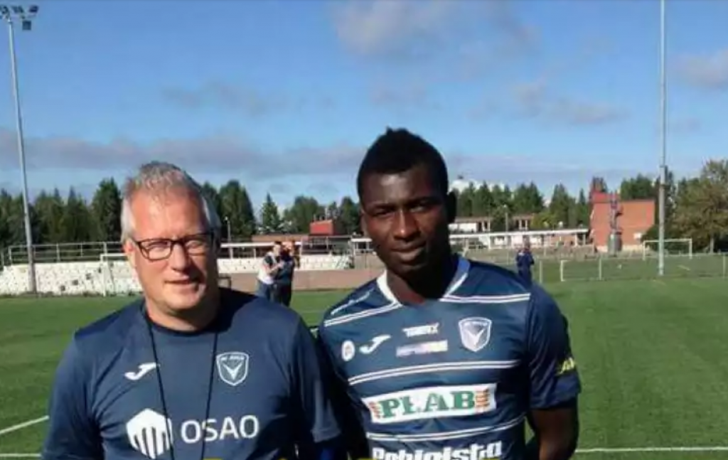 Finnish lower-tier Oulu complete signing of Ghanaian teenager from Liberty Professionals