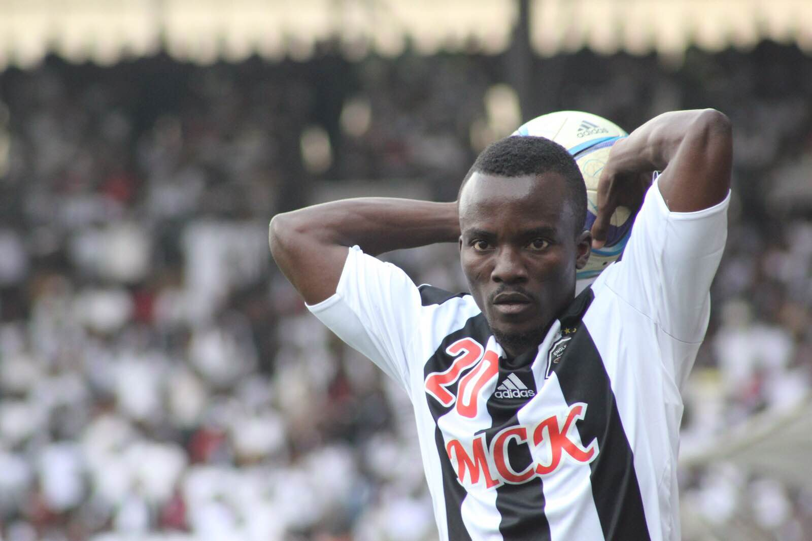 Winger Solomon Asante dispels reports he has left TP Mazembe