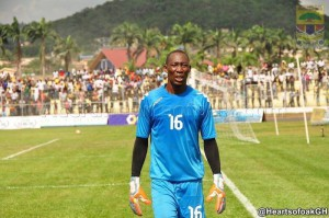 Hearts goalie Soulama Abdoulaye insists Premier League crown is within reach