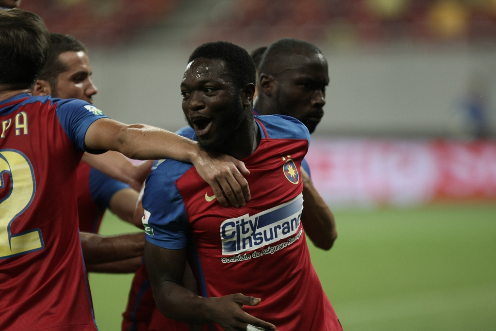 Muniru Sulley backs FC Steaua Bucuresti to beat Viitorul in 'important game' playoff match tonight