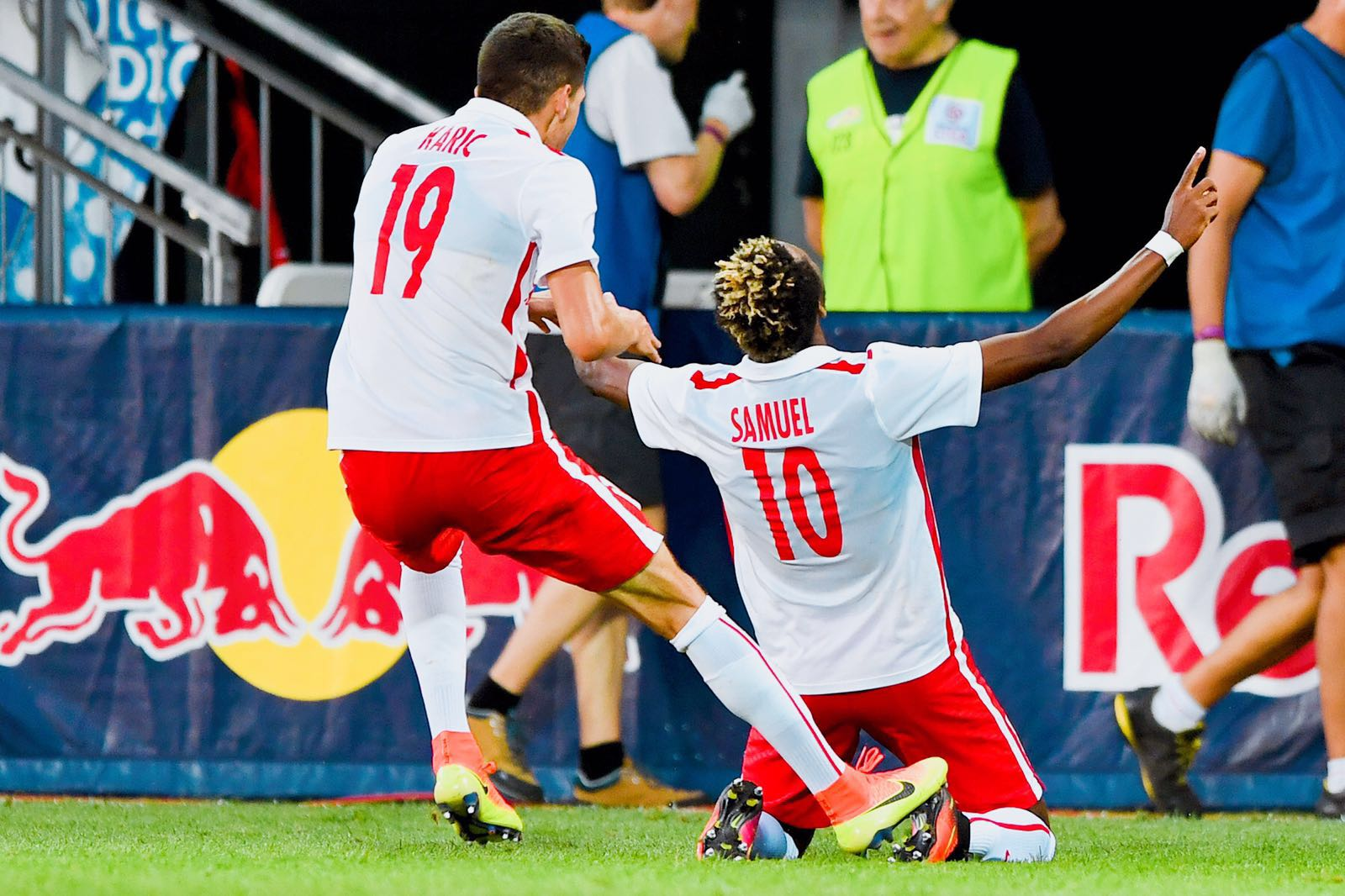 PHOTOS: Black Stars striker Samuel Tetteh scores AGAIN for Liefering in Austria