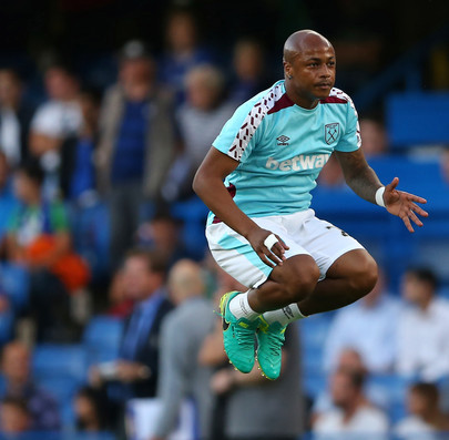 West Ham £20m star Andre Ayew suffers injury in debut clash with Chelsea