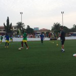 PHOTOS: Aduana Stars train on Kotobabi Wembley AstroTurf pitch ahead of WAFA clash