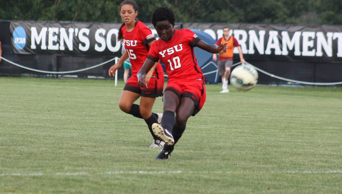Ernestina Abambilla scores first goal for Youngstown State