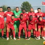 PHOTOS: Ghana striker Saddick Adams on trial in Turkey
