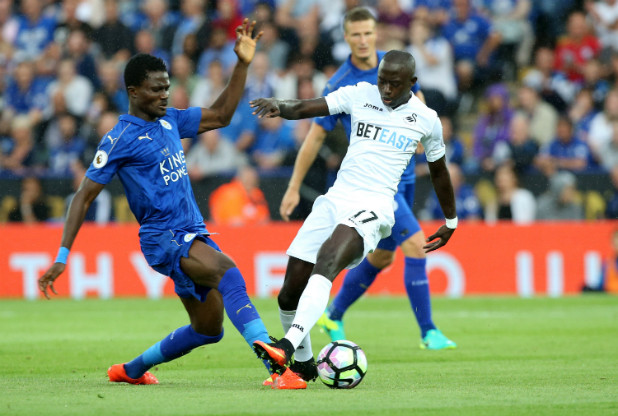 Daniel Amartey earns Claudio Ranieri's praise but manager says Ghana star can't be like Kante
