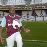 Video: Andre Ayew completes first West Ham United training