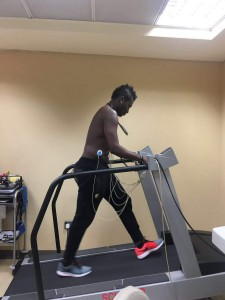 PHOTOS: Asamoah Gyan passes Al Ahli medical ahead of loan switch from Shanghai SIPG