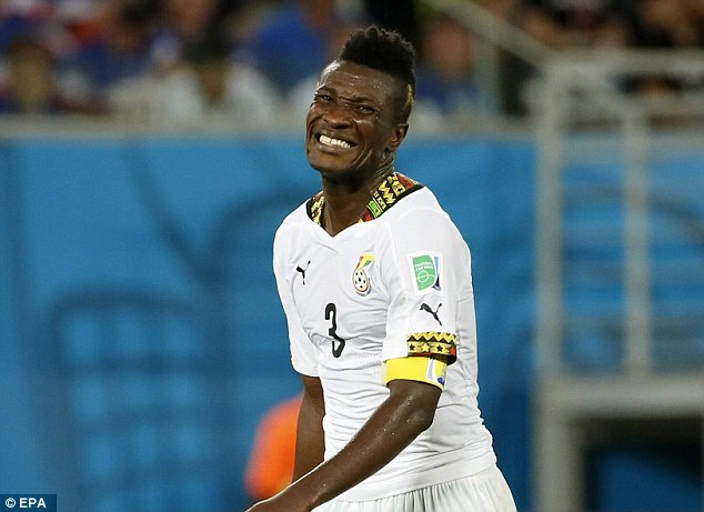 Asamoah Gyan's proposed move to Fulham off according reports in the UK