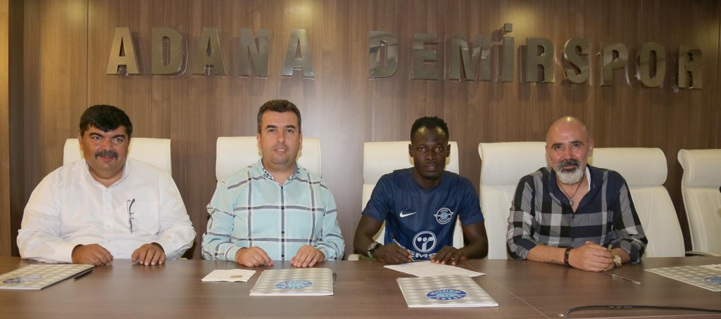 BREAKING NEWS: Ghana midfielder Seidu Salifu joins Turkish side Adana