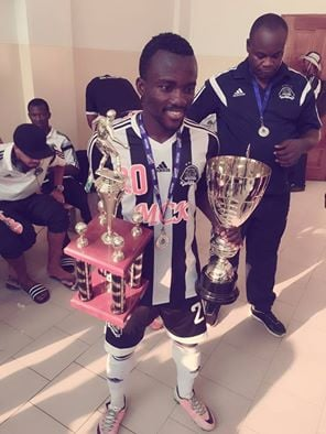 Solomon Asante wins DR Congo Super Cup with TP Mazembe