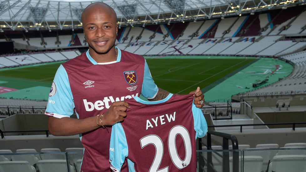 PHOTOS: Andre Ayew completes move to West Ham United