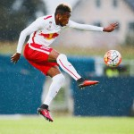 VIDEO: Samuel Tetteh's stupendous free kick in FC Liefering big win