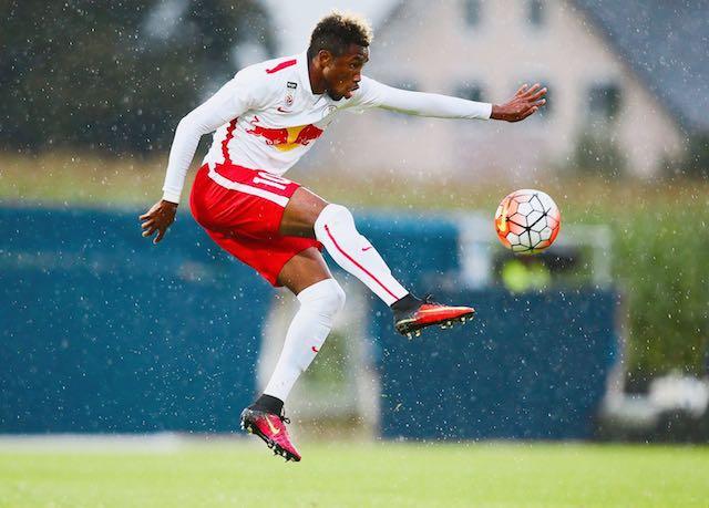 VIDEO: Samuel Tetteh's stupendous free kick in FC Liefering big win