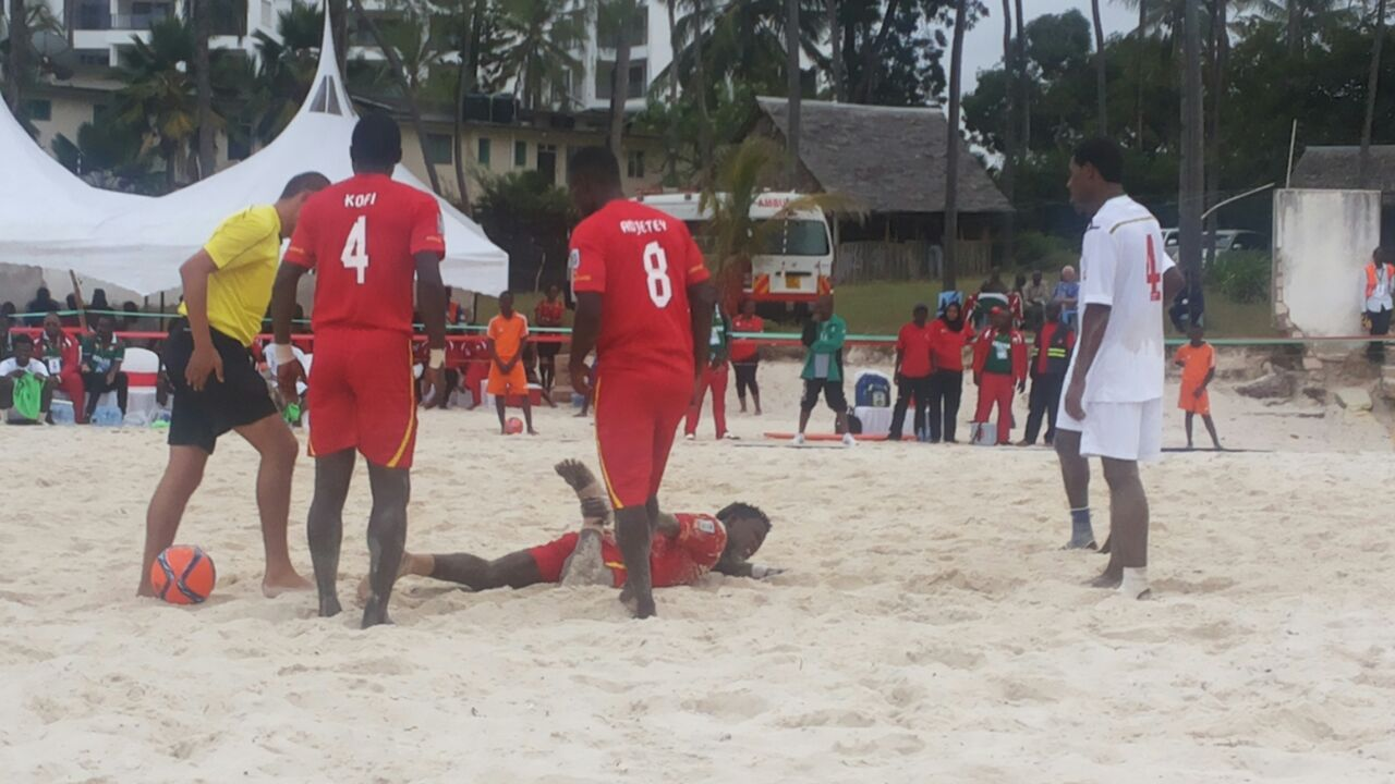 AFCON 2016 Beach Soccer Qualifier: Black Sharks annihilate Kenya 10-3 in Mombasa